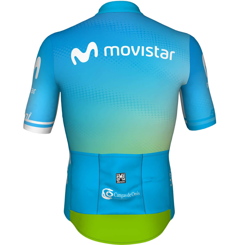 Maillot Santini Desafio Lagos de Covadonga by Movistar 2020